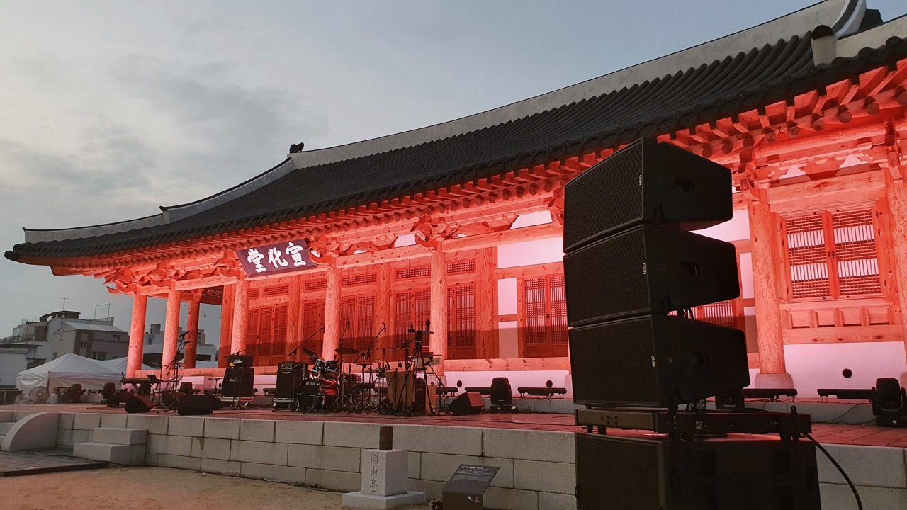 GEO M12 LINE ARRAY UNITES ANCIENT AND MODERN IN SOUTH KOREA