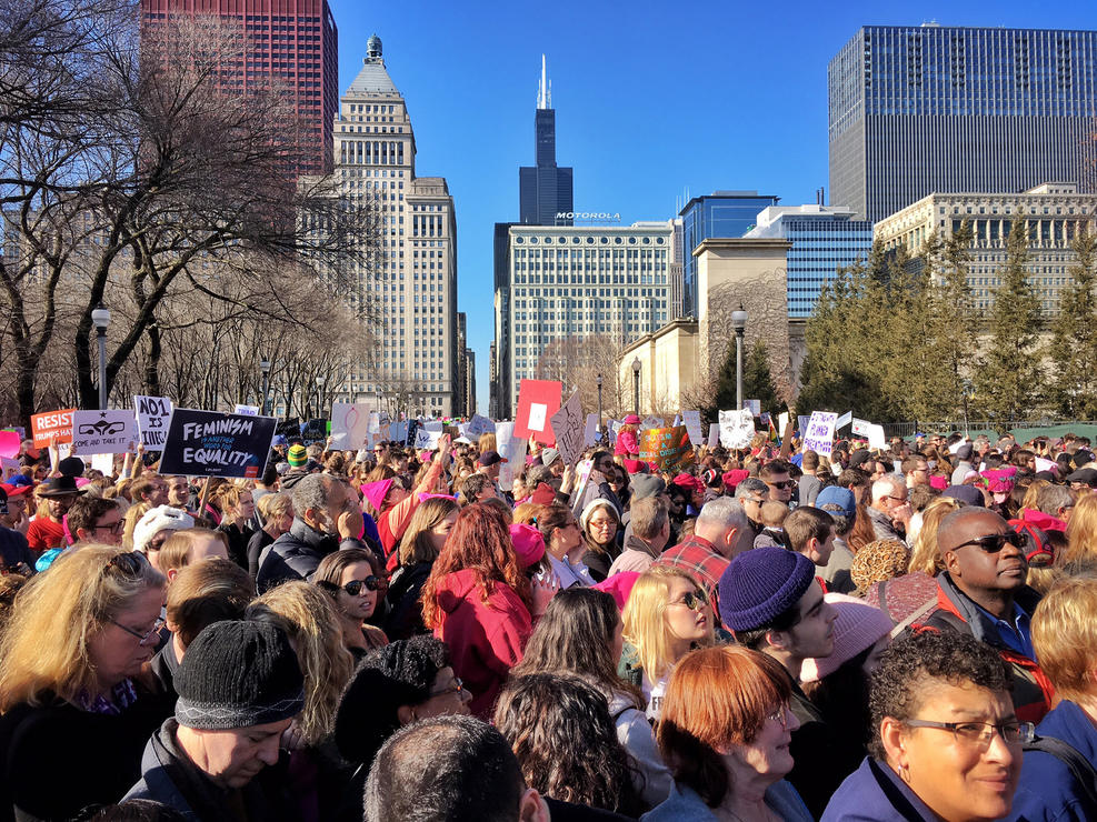 NEXO JOINS WOMEN'S MARCH IN CHICAGO